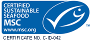 Certified sustainable seafood